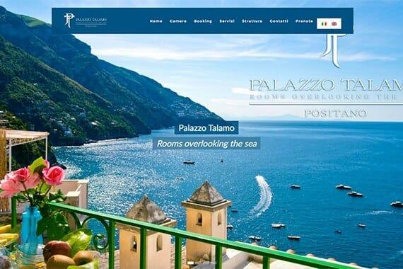 Palazzo Talamo Positano Website